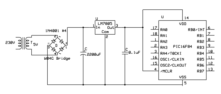 Powering The Microcontroller